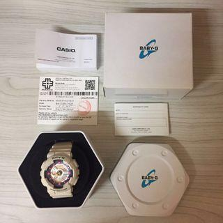 100% Original Casio Baby-G White [BA110-SN]