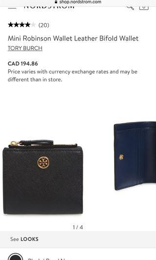 Tory Burch bifold wallet