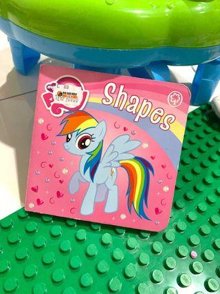 Little pony shapes ( buku cerita import)