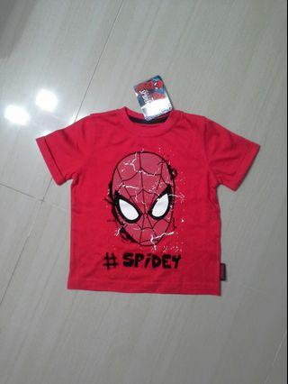 🚚 Brand NEW Authentic Boys Disney Spiderman Tee