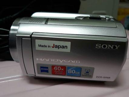 SONY HANDYCAM DCR-SR68 80GB 99%NEW NO ISSUE