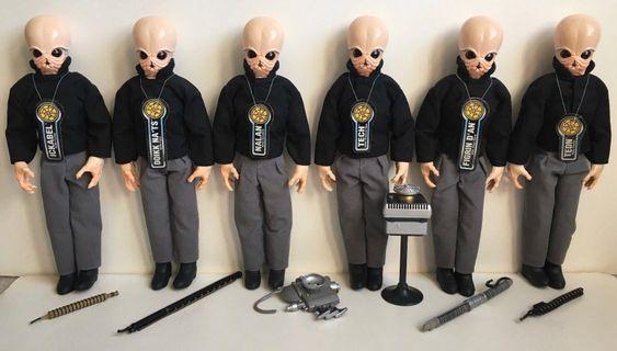 Star Wars Cantina Band (6 member) 全套六款 新品 未拆 罕有 絶版 出自1997年