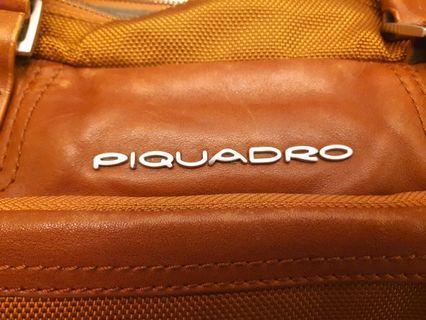 piquadro briefcase 公事包 真皮