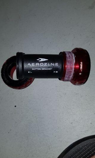 Aerozine titanium ceramic  bottom bracket