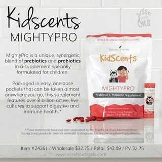 Young living Kidscents mightypro probiotic