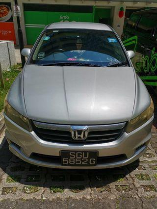 Honda Stream 1.8 Auto for rent!Welcome GOJEK/GRAB/TADA/RYDE/PERSONAL USE