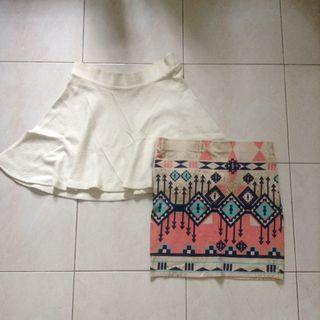 Bershka skirts #MMAR18