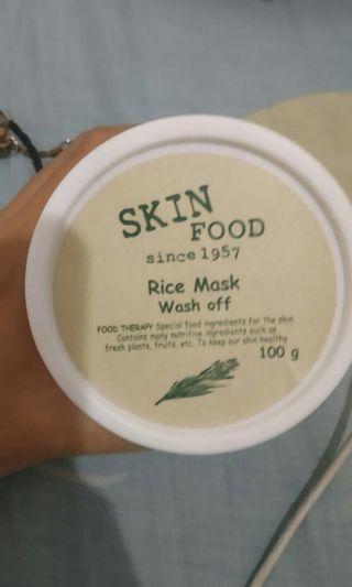 Masker beras korea