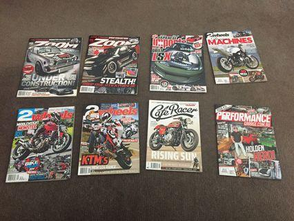 8 magazines for $8.00