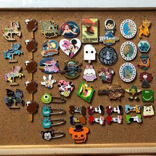 迪士尼襟章 Disney pin 清pin價!