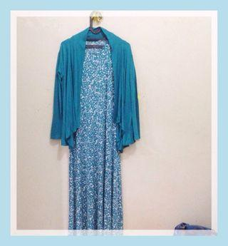 Drees jersey motif with blazer
