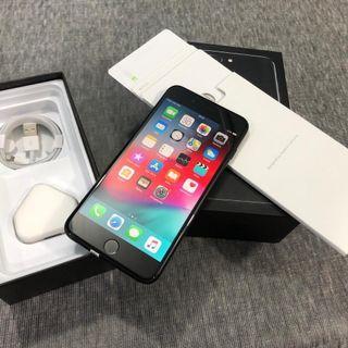 Iphone 7 plus 128gb blqck jet fullset
