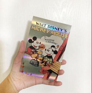 迪士尼Disney Mickey Mouse 米奇老鼠 postcard 明信片