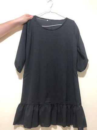 黑色透視裙2xl