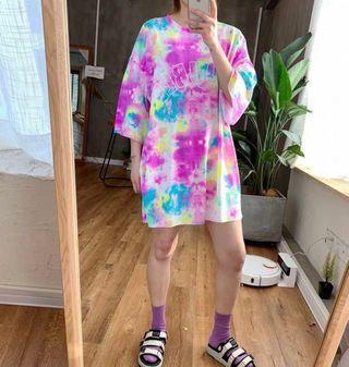 韓國T-shirt $348 One Size 胸圍 130cm 衣長 83cm