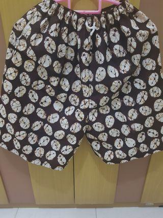 Celana Santai batik #BAPAU
