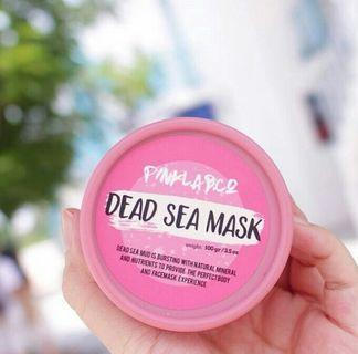 Dead sea mask pink lab co- chocolate edition