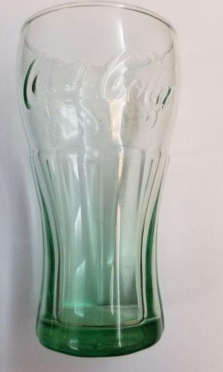 可口可樂 綠色玻璃杯(美國製造)