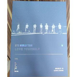 BTS Love Yourself In Seoul DVD Photobook
