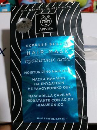Apivita - Moisturizing Hair Mask 深層補濕修護護髮膜 20ml