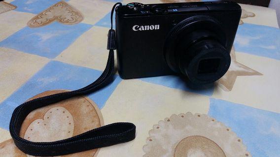 Canon S95 連正廠電池 外攜袋 操作正常