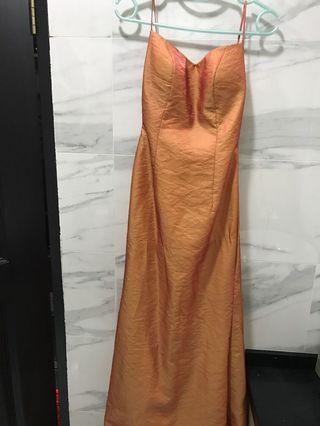 Wedding dinner gown