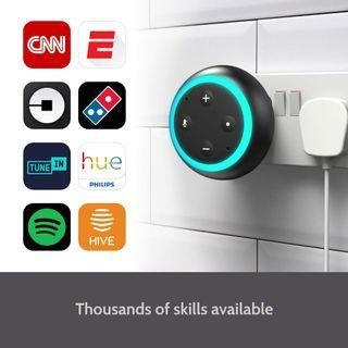 (ATAS) Smart Speaker Alexa Compactable