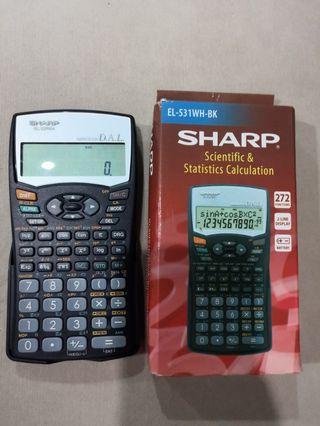 SHARP Scientific & Statistics Calculation