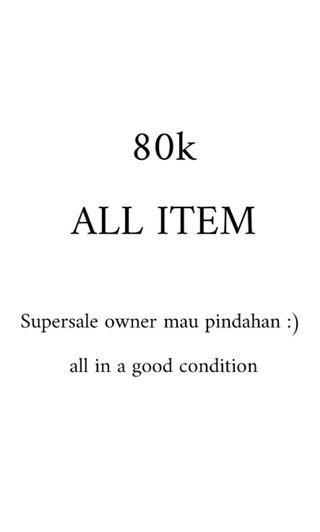SUPERSALE 80K