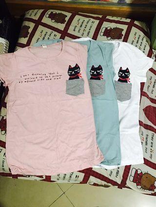 多款全新韓國T恤
