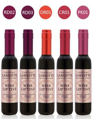 🚚 Brand New From Korea Chateau Labiotte Wine Lip Tint