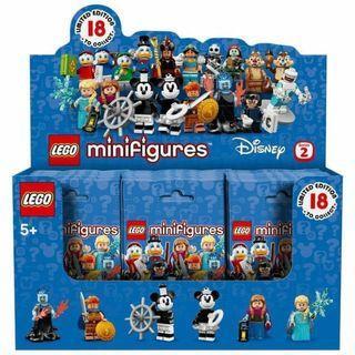Ready stock LEGO 71024 Disney Series 2 Box of 60