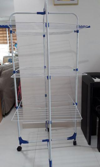 unique space saving clothes drying rack