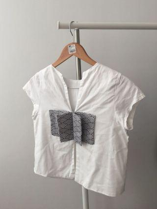 Beatrice Clothing white top