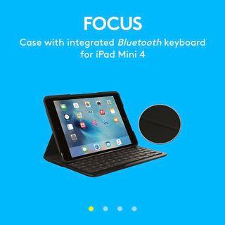 Logitech iPad Mini 4 Keyboard Case