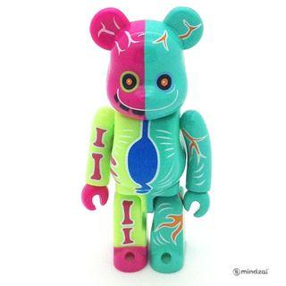 S30 -  Gakki-Kun (Artist) [Secret] Bearbrick 100% Collectible Figure Medicom 2.08% Brand new and sealed, with card