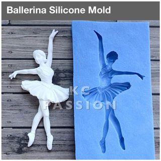 💃 BALLERINA • BALLET SILICONE MOLD