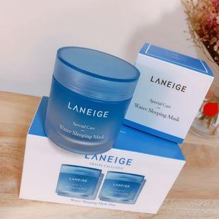 🚚 LANEIGE蘭芝💙睡美人香氛水凝膜-保濕淨亮