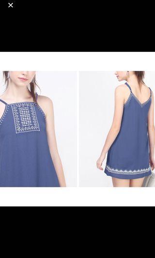 Fayth Embroidery Dress