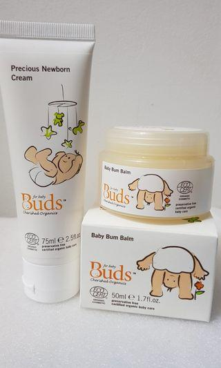 Buds Cherished Organic newborn set
