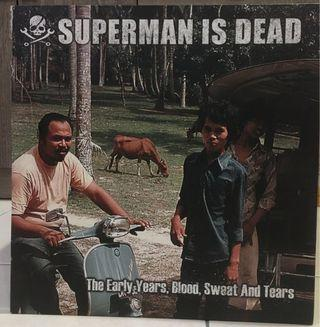 Superman is dead - the early years,blood,sweat and tears vinyl LP