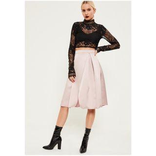 Missguided Satin Skirt
