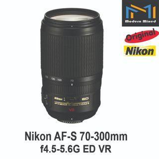 Nikon AF-S 70-300mm f4.5-5.6G ED VR