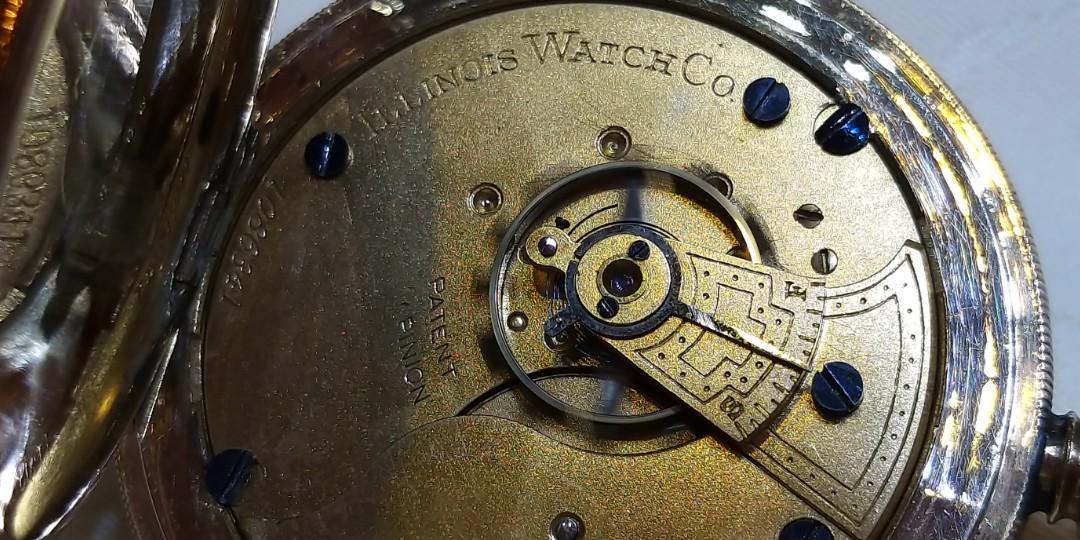 古董上鏈特大56mm懷錶