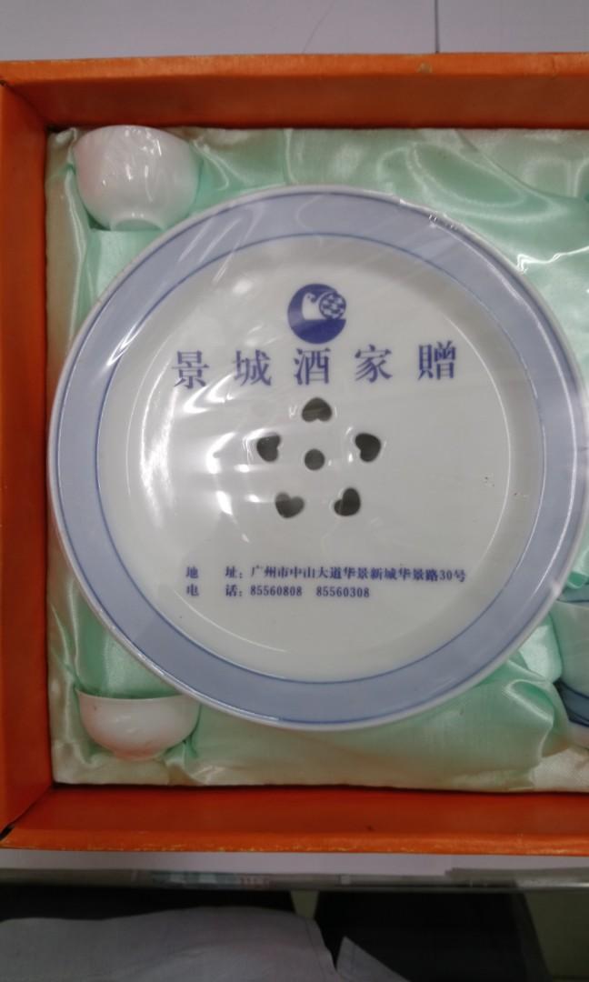 2008年奧運青花茶具