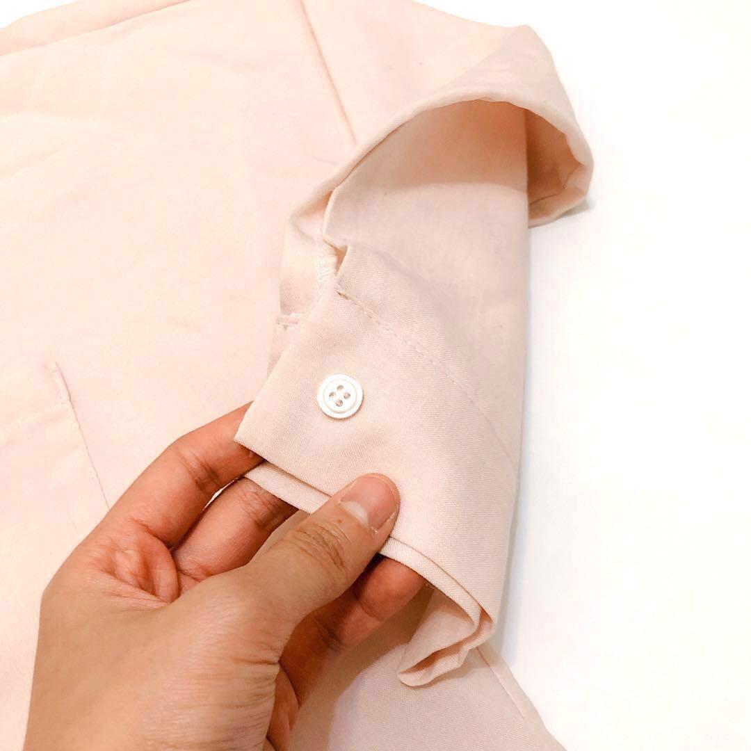 淺粉襯衫💕(點開有更多圖)