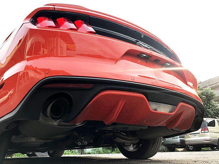 全額貸專區~ 2015年 福特 野馬 2.3T 時尚橘🤘🏻🤘🏻🤘🏻 剛到港 未領牌 已認證 #車在新北泰山 #歡迎來店賞車 #賴momoco1103