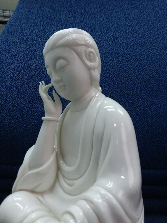 德化白瓷 蘇杜村 靜思觀音