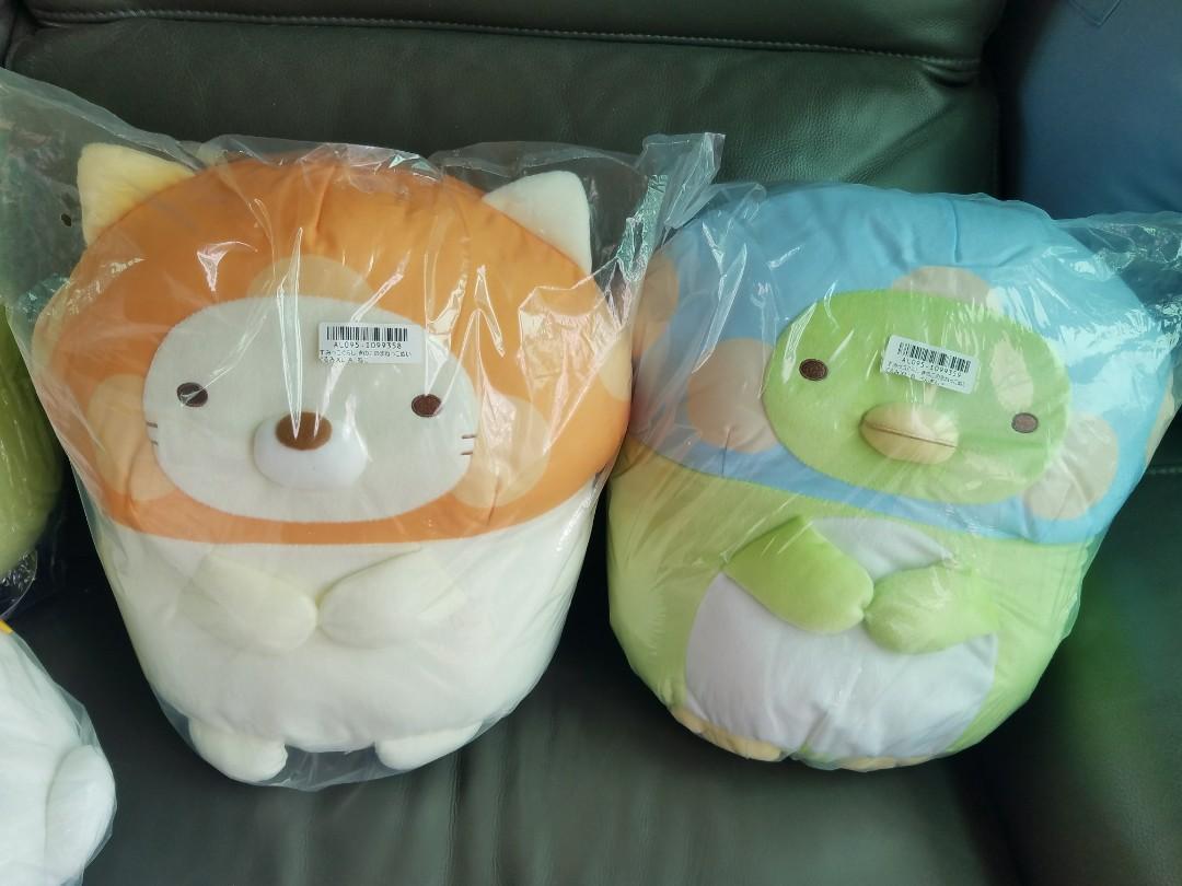 特價 角落生物 企鵝 貓咪 大公仔 日本直送景品 toreba
