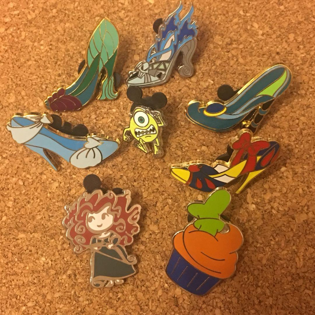迪士尼 襟章 徽章 Disney pin Disneyland Pins 公主